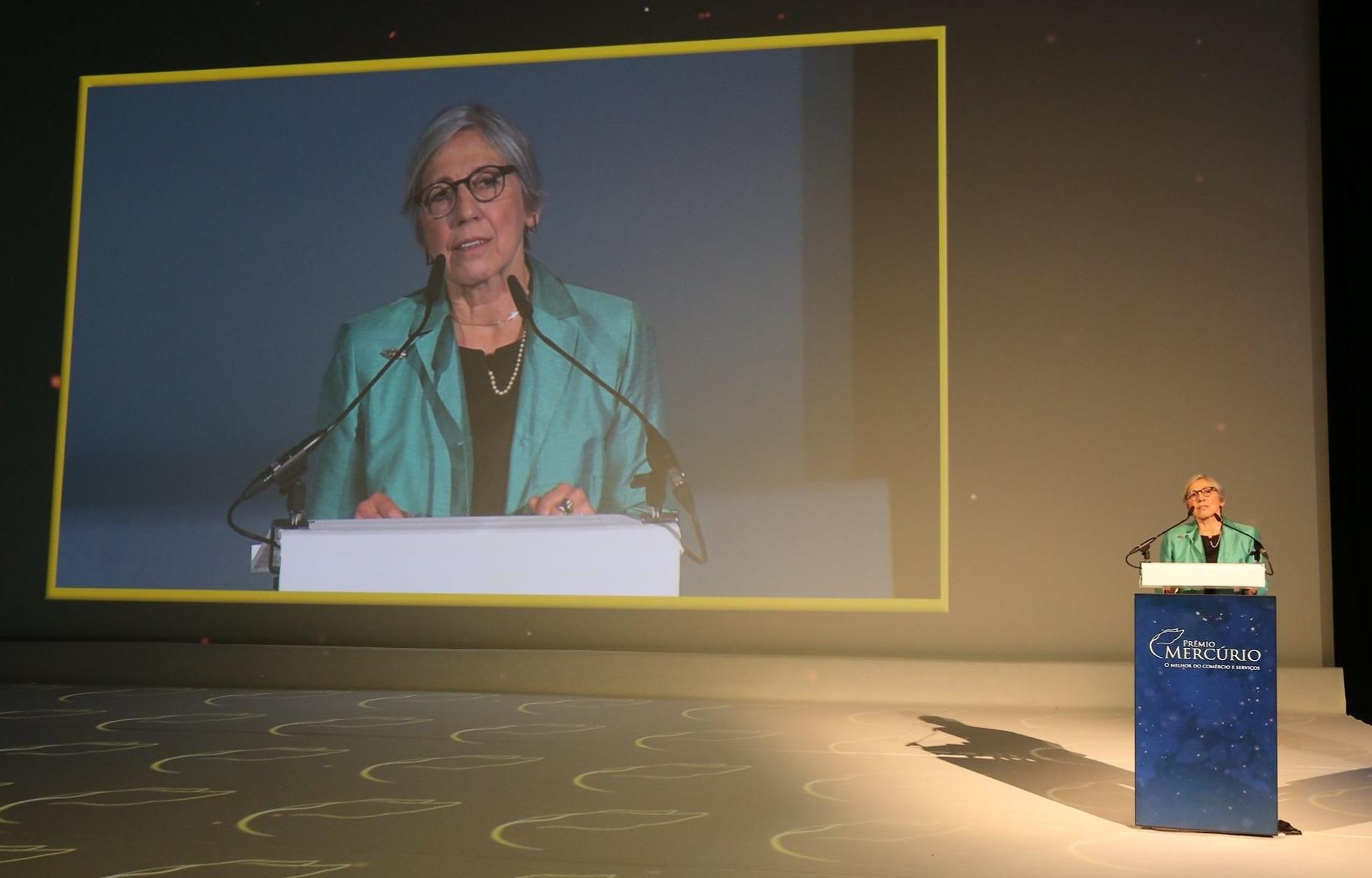 Foto No evento - Crédito- Organização do Prémio
