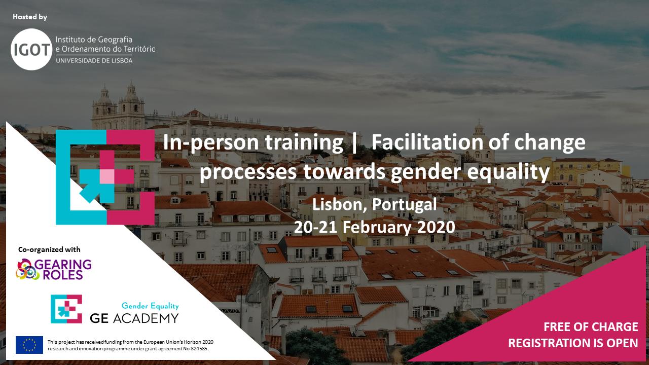 cartaz gender equality