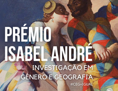 Criação do Prémio Isabel André para investigação em Género e Geografia