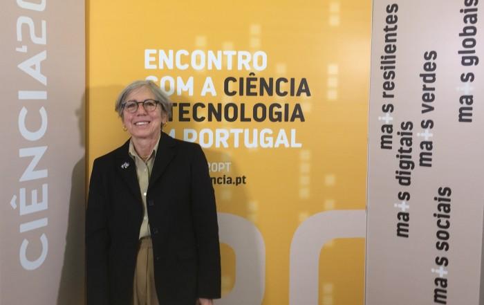 Teresa Barata-Salgueiro medalha de merito ciencia