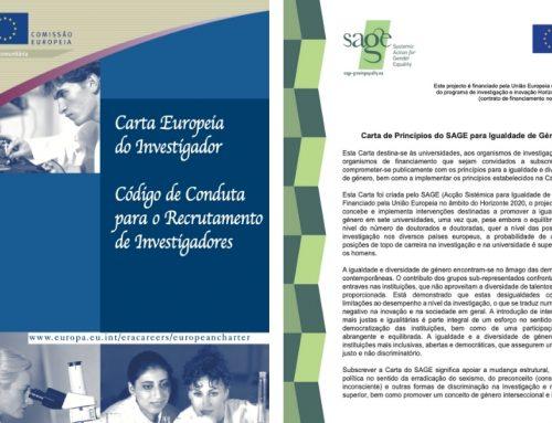 CEG ratifica Carta Europeia do Investigador e Carta de Princípios do SAGE para Igualdade de Género