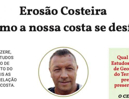 José Luís Zêzere fala sobre a erosão costeira em entrevista ao País Positivo