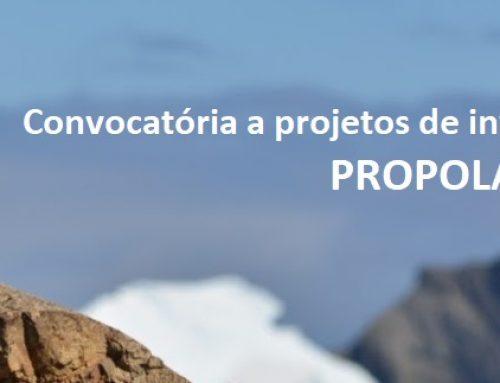 Convocatória a projetos de investigação polar – PROPOLAR 2021-2022