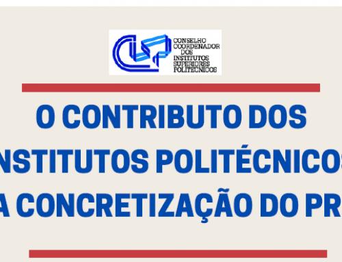 """Webinar """"O contributo dos Institutos Politécnicos na concretização do PRR"""" com Mário Vale"""