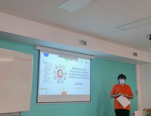 Grupo de investigação ZOE organiza workshop em análise qualitativa e mista assistida por computador